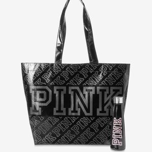 NEW! VS PINK S'well Water Bottle & Reusable Tote